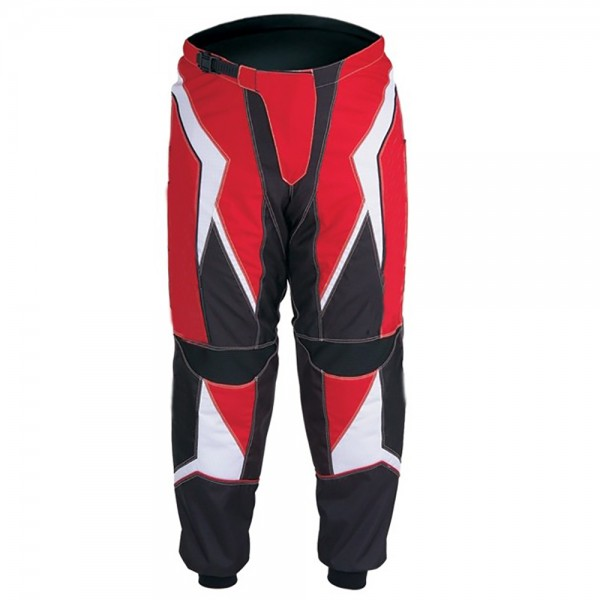 Red Hot Motocross Trouser Polyester Cordura