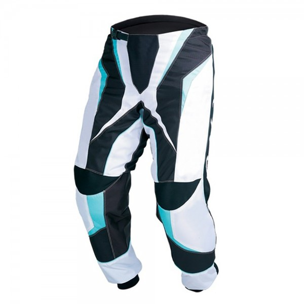 Lady Blue Motocross Cordura Textile Trouser