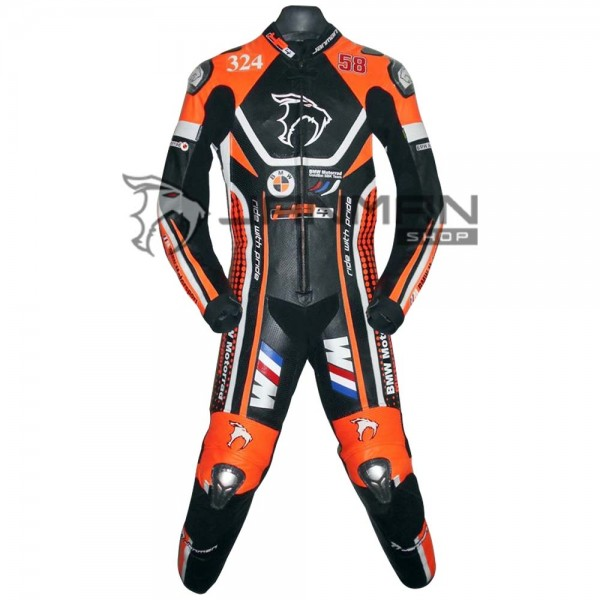 Leather Motorbike Suit-02