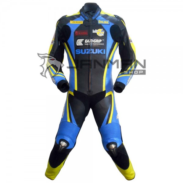 Leather Motorbike Suit-09