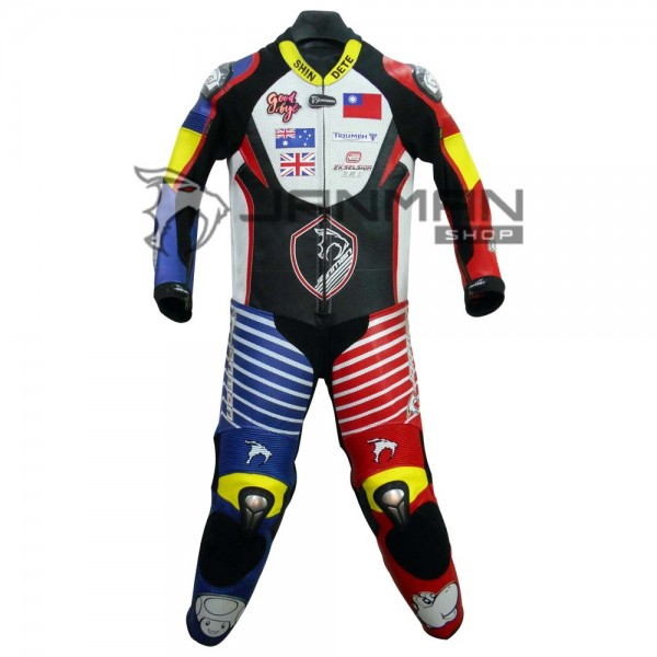 Leather Motorbike Suit-15
