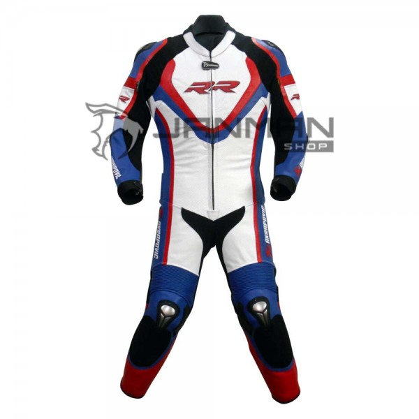 Leather Motorbike Suit-18
