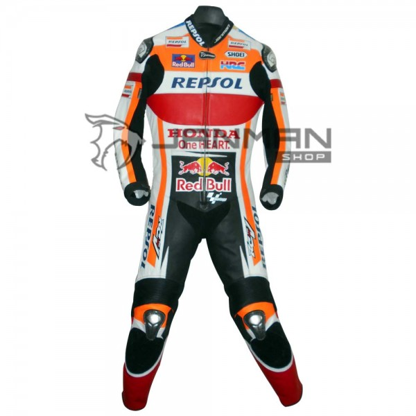 Leather Motorbike Suit-19
