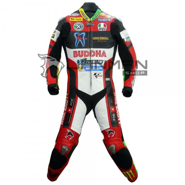 Leather Motorbike Suit-23