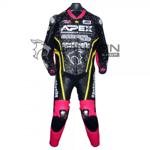 Leather Motorbike Suit-27
