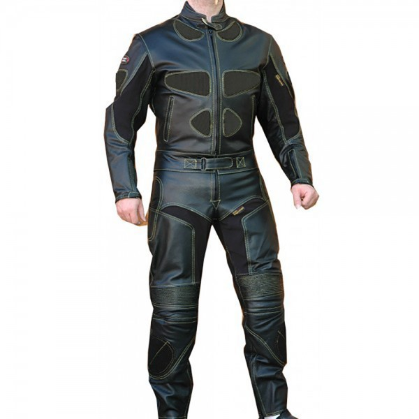 Mickey Motorbike Racing Leather Kevlar 2-PC Suit Men