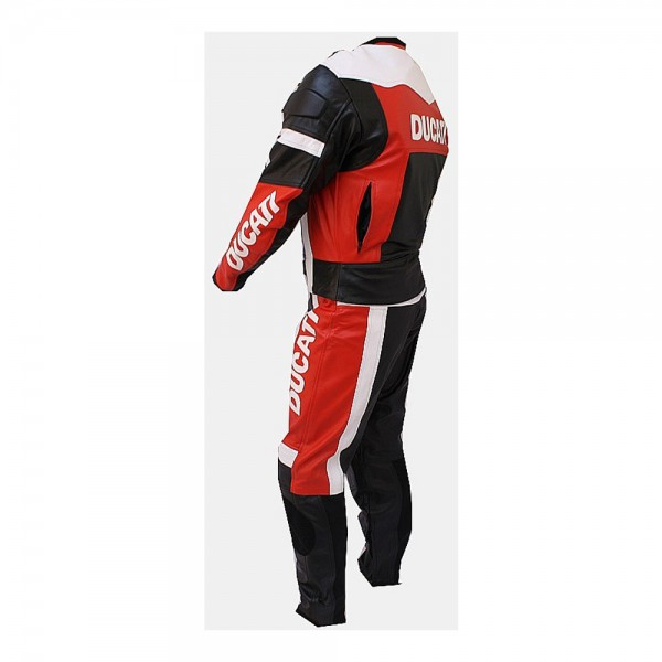 Ducati Motorbike Racing Leather Suit 2-Pc