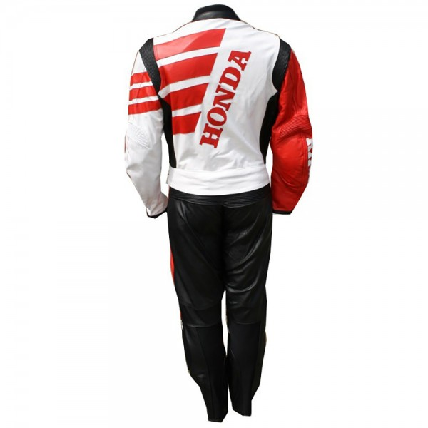 Honda WING Motorbike Leather Suit 2-PC