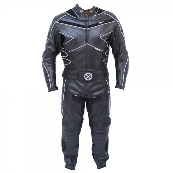 X-MEN Motorbike Leather Suit 2-P