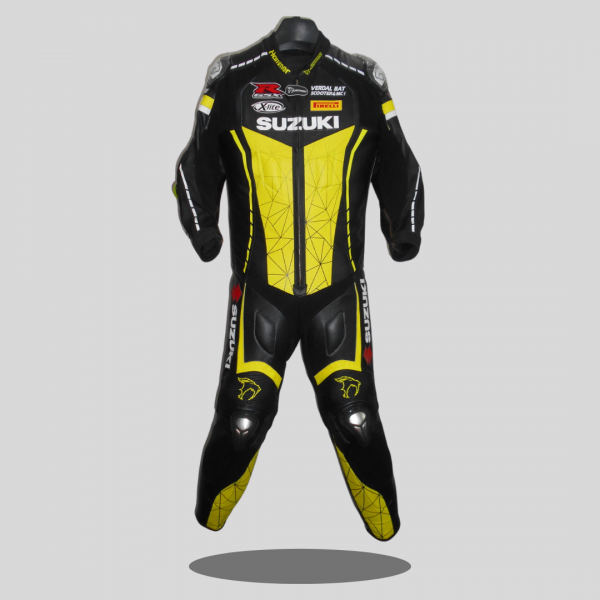 Ring customized race leather motorbike suit