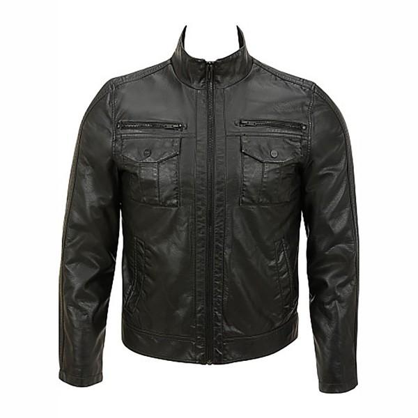 Classic Jeans Semi Motorbike Semi Fashion Leather Jacket