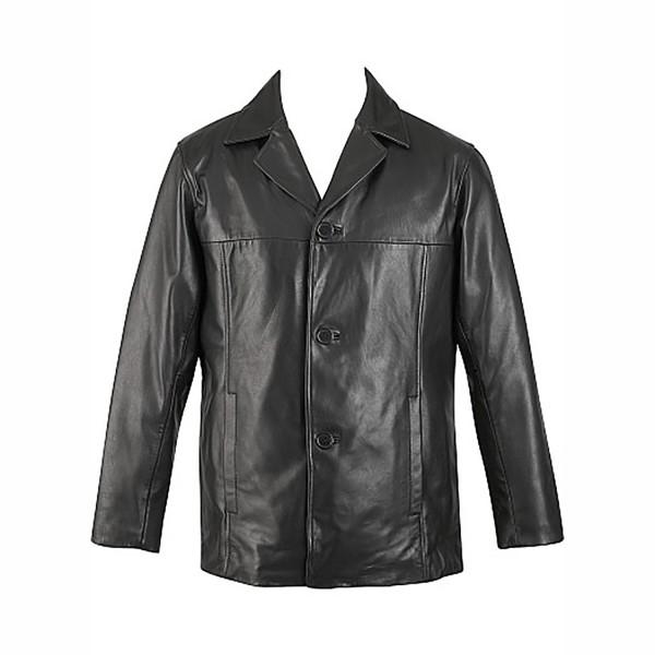 Leather Fashion & Casual Coat Collar Jacket