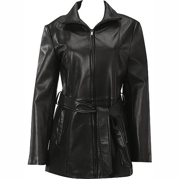 Sheep Leather Ladies Fashion & Causal Coat