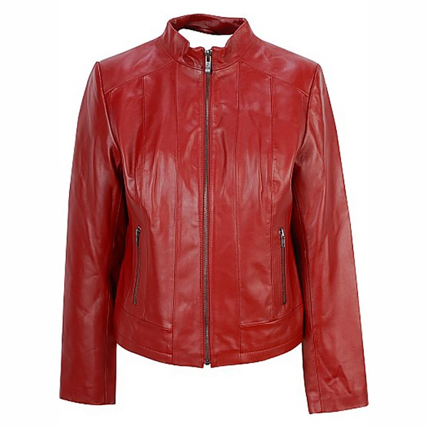 Sheep Leather Ladies Fashion & Casual Jacket