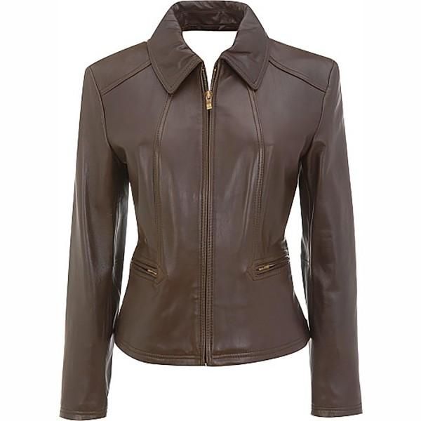 Gorgeous Ladies Lamb Skin Leather Fashion & Casual Jacket