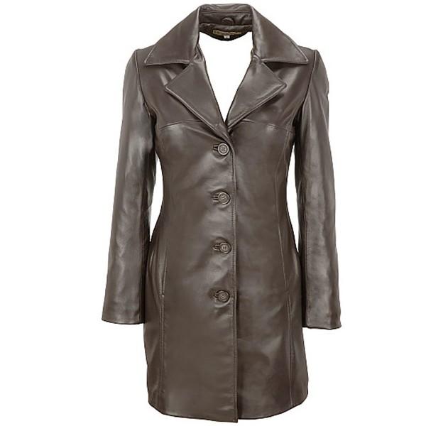 Fashion Leather Coat