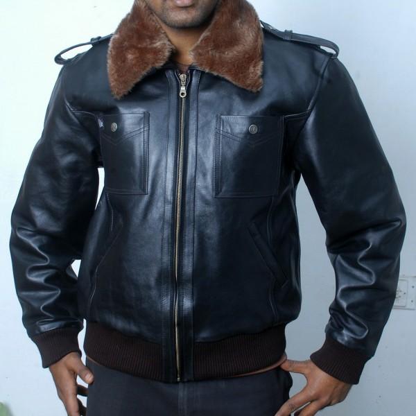 Flight: Pilot Fashion Leather Jacket