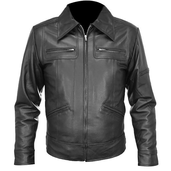 Naked: Waist Cut Leather Shirt Style Fashion Jacket