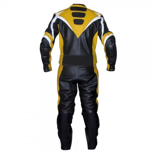 Motorbike Racing Leather Suit 2-Pcs