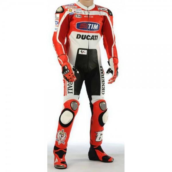 Nicky Hayden Ducati Corse MotoGP 2011 Motorbike Leathers