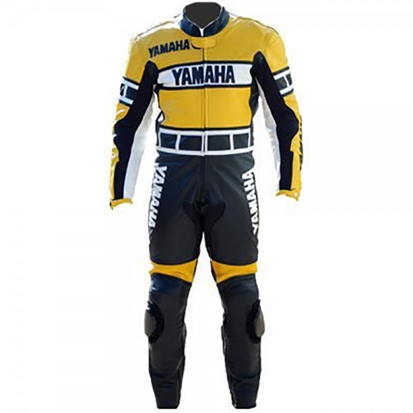 Yamaha Motorbike Racing Leather 1-PC Suit