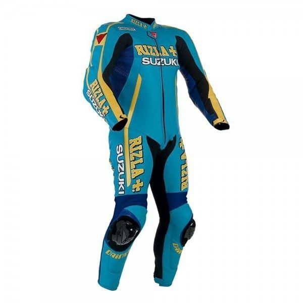 Suzuki Rizla Motorbike Racing Leather 1-PC Suit-101