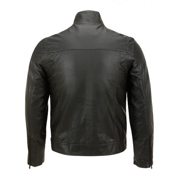 Classic Jeans Semi Motorbike Semi Fashion Leather Jacket