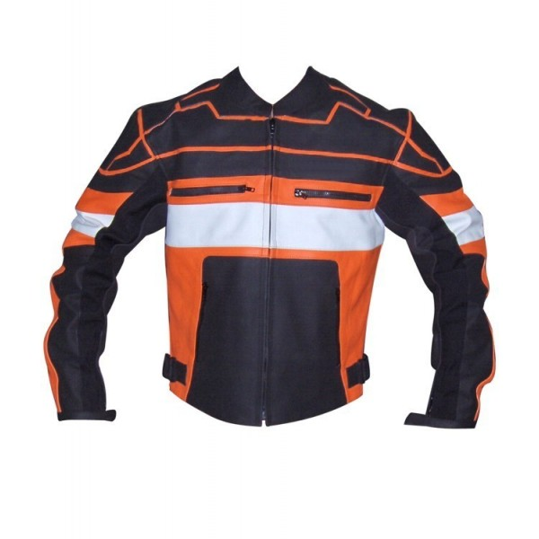 Figure: Motorbike Racing Leather Jacket