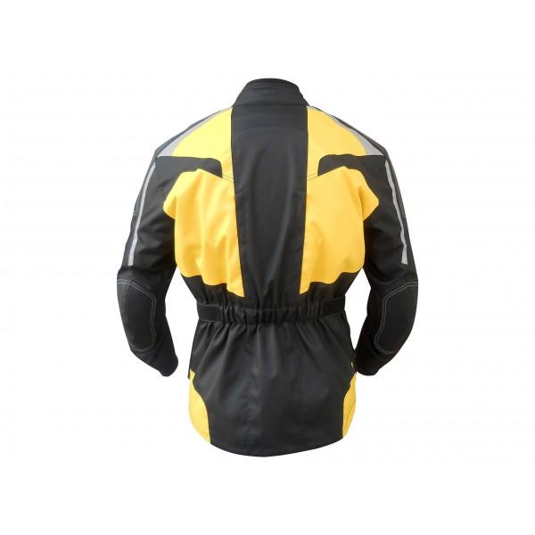 Neon Motorcycle Cordura Textile Jacket
