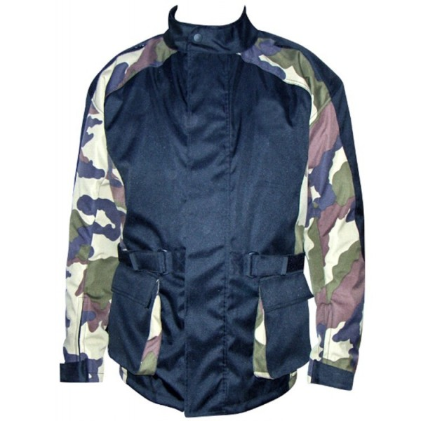 Camo Motorbike Cordura Textile Jacket