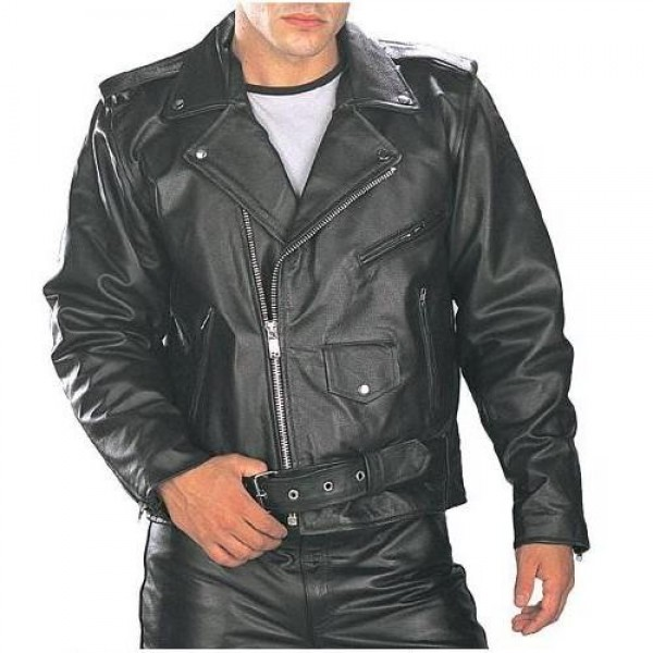 Brando Motorbike Leather Vintage Jacket