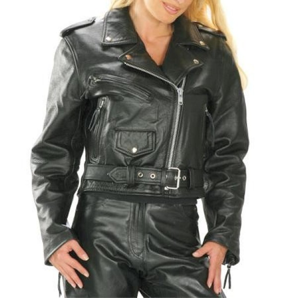 Brando Motorbike Leather Vintage Jacket Women